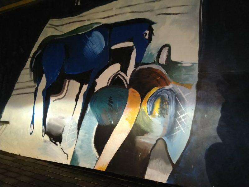 Maľby na zastávkach v Svederníku